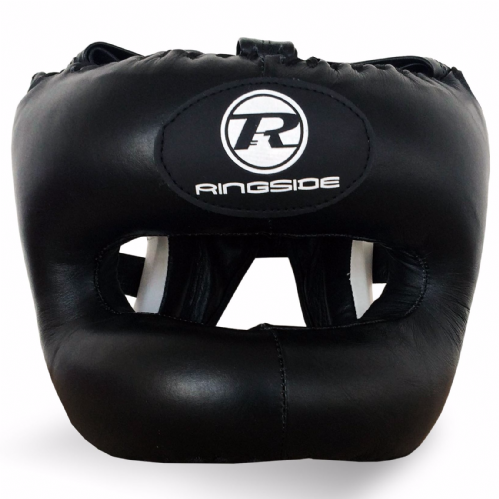 Ringside Pro Training Bar Head Guard Black/White